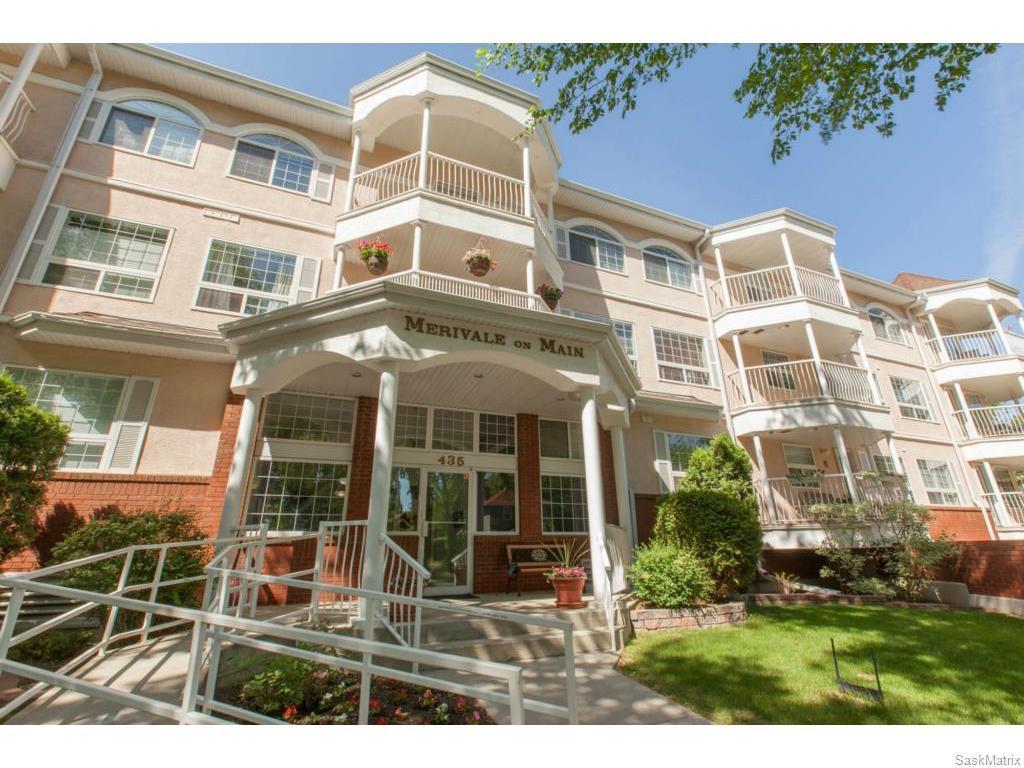 Main Photo: 207 435 Main Street in Saskatoon: Nutana Complex for sale (Saskatoon Area 02)  : MLS®# 599761