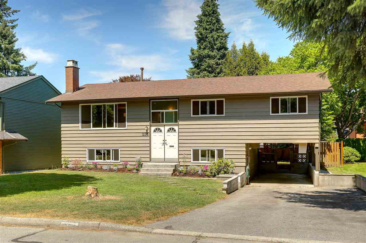 Main Photo: 1255 ELLIS DRIVE in Port Coquitlam: Birchland Manor House for sale : MLS®# R2189335