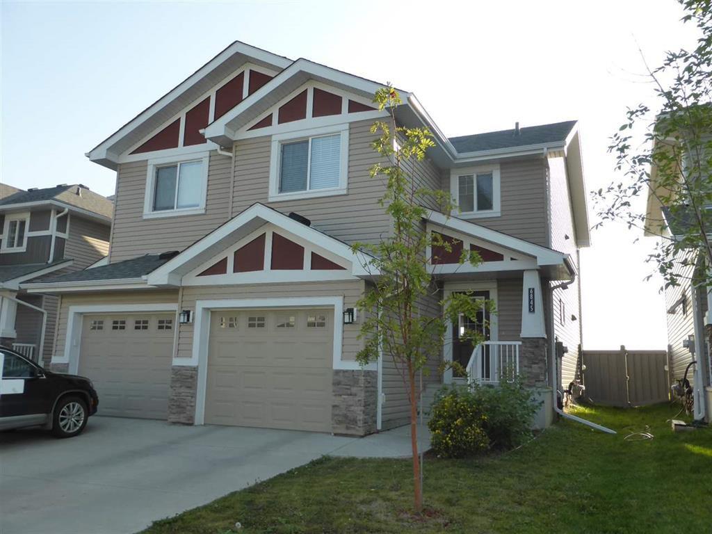 Main Photo: 6845 Cardinal Link in Edmonton: House Half Duplex for sale