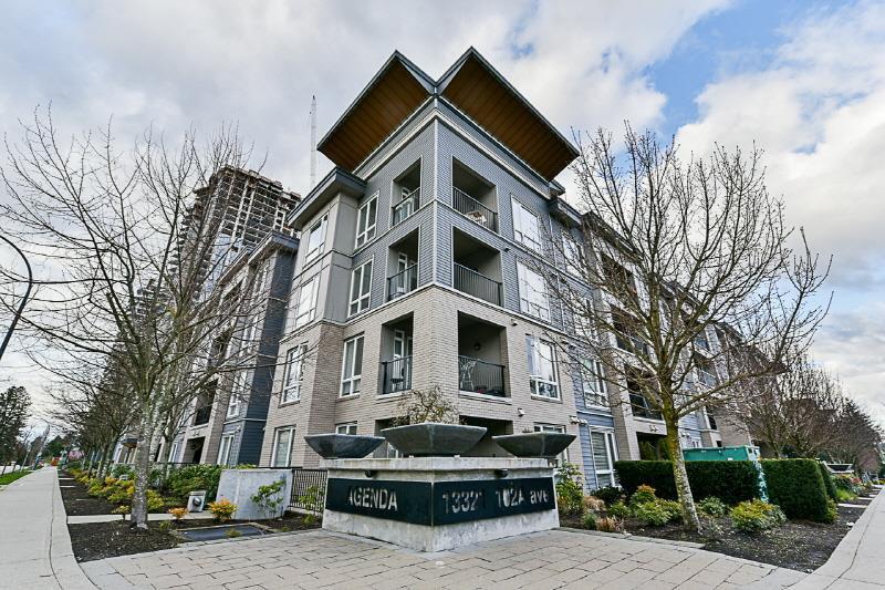 """Main Photo: 331 13321 102A Avenue in Surrey: Whalley Condo for sale in """"Agenda"""" (North Surrey)  : MLS®# R2256303"""