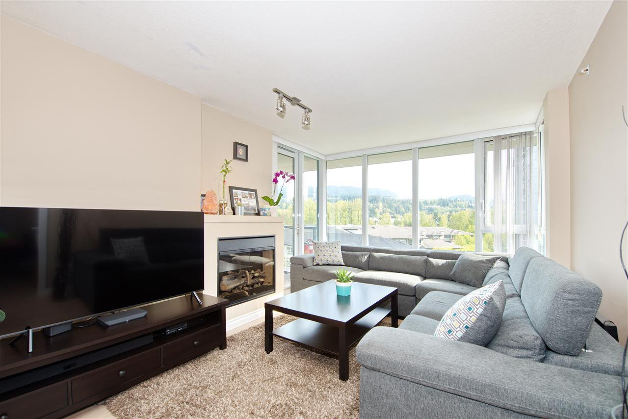 "Main Photo: 707 651 NOOTKA Way in Port Moody: Port Moody Centre Condo for sale in ""SAHALEE"" : MLS®# R2361626"
