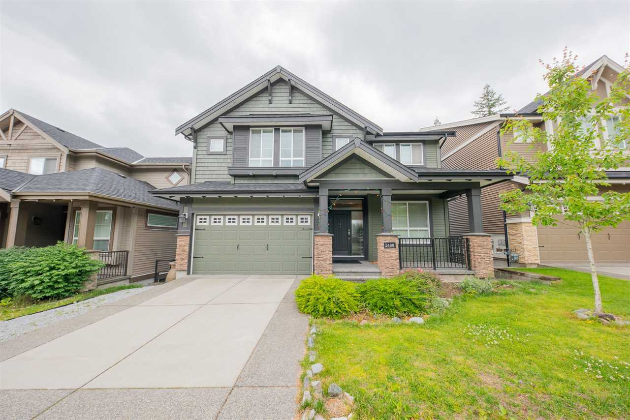 Main Photo: 3488 BISHOP Place in Coquitlam: Burke Mountain House for sale : MLS®# R2381938