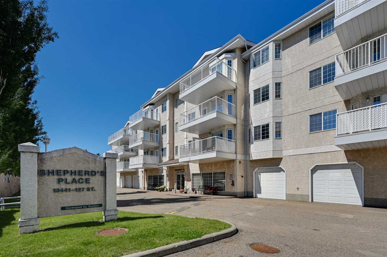 Main Photo: 352 13441 127 Street in Edmonton: Zone 01 Condo for sale : MLS®# E4208083