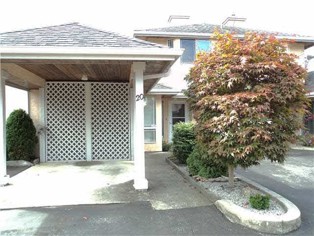 "Main Photo: 20 11950 LAITY Street in Maple Ridge: West Central Townhouse for sale in ""THE MAPLES"" : MLS®# V1137328"
