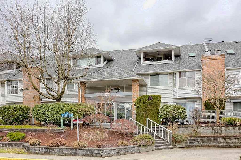 "Main Photo: 109 11578 225 Street in Maple Ridge: East Central Condo for sale in ""THE WILLOWS"" : MLS®# R2138956"
