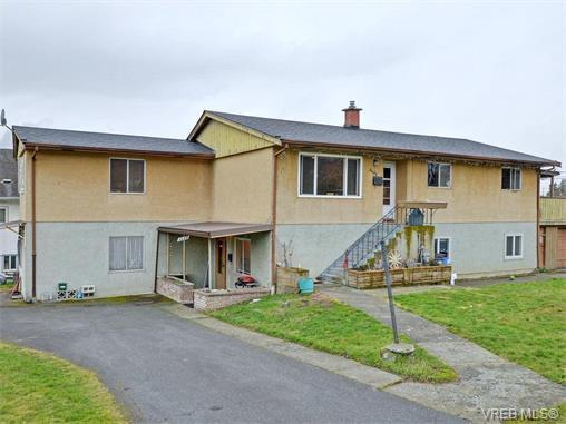 Main Photo: 3450 Lovat Avenue in VICTORIA: SE Quadra Revenue Duplex for sale (Saanich East)  : MLS®# 375001