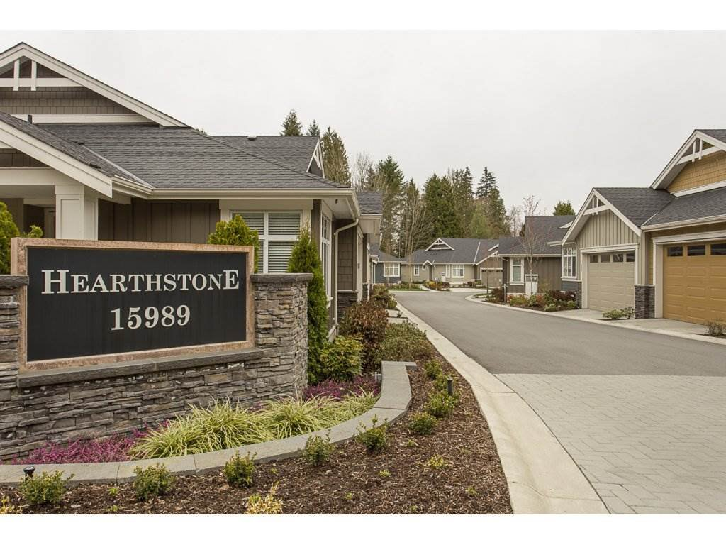 "Main Photo: 2 15989 MOUNTAIN VIEW Drive in Surrey: Grandview Surrey Townhouse for sale in ""HEARTHSTONE IN THE PARK"" (South Surrey White Rock)  : MLS®# R2153364"