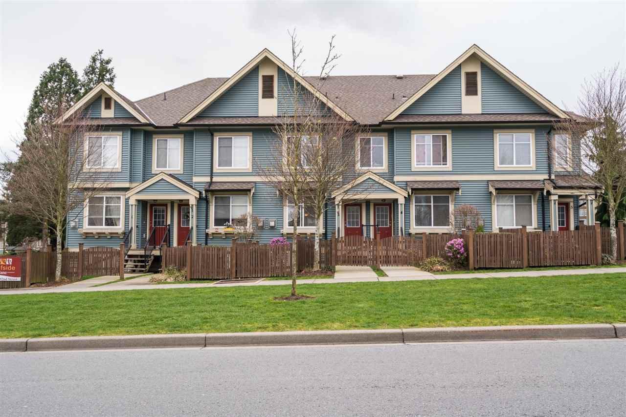 "Main Photo: 3 6635 192 Street in Surrey: Clayton Townhouse for sale in ""LEAFSIDE LANE"" (Cloverdale)  : MLS®# R2167196"