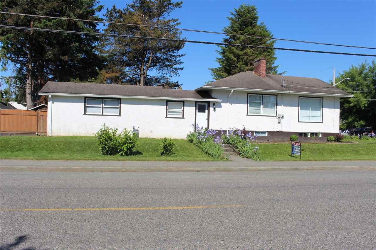 Main Photo: 46198 PRINCESS Avenue in Chilliwack: Chilliwack E Young-Yale House for sale : MLS®# R2170884