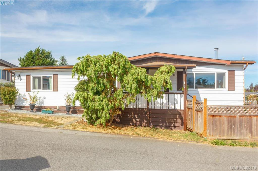 Main Photo: 18 124 Cooper Road in VICTORIA: VR Glentana Manu Double-Wide for sale (View Royal)  : MLS®# 382476