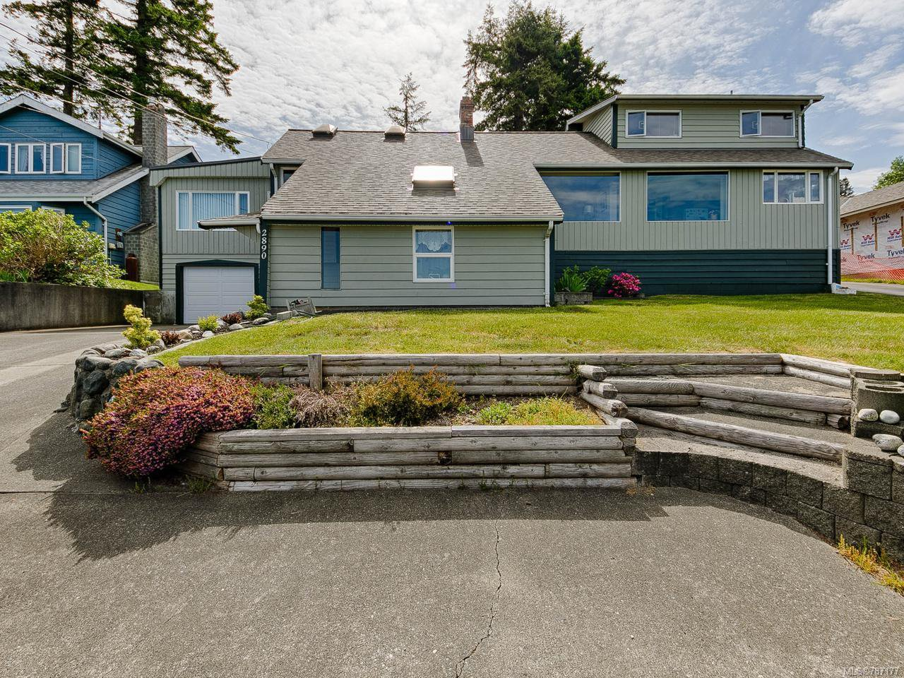 Main Photo: 2890 S Island Hwy in CAMPBELL RIVER: CR Willow Point House for sale (Campbell River)  : MLS®# 787177