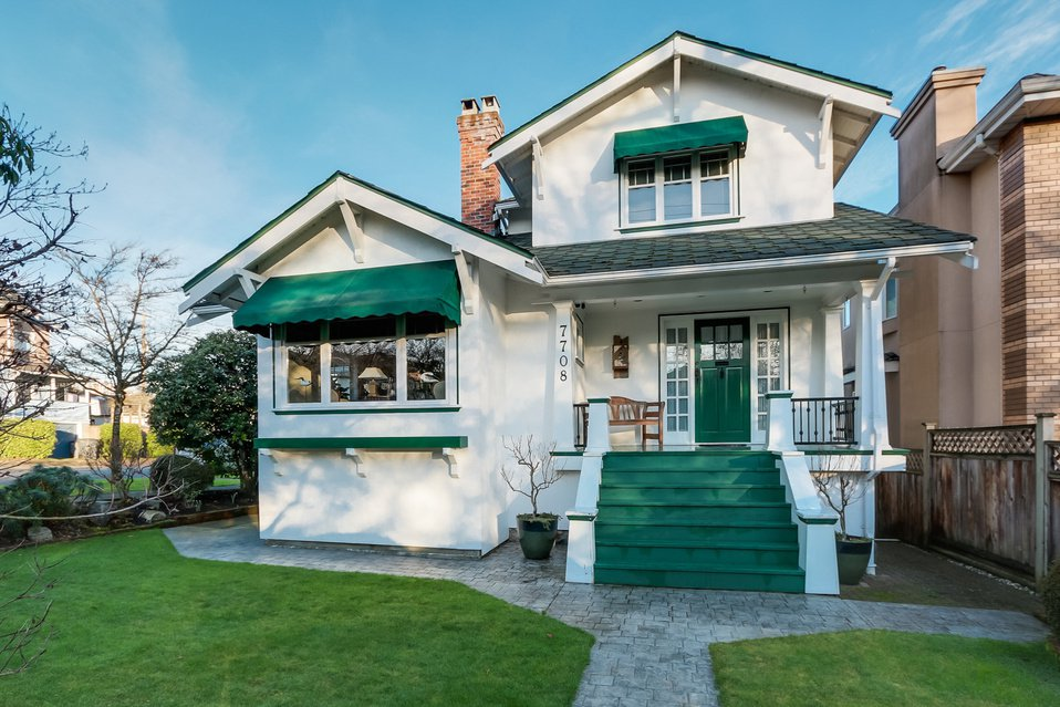 Main Photo: 7708 Heather Street in Vancouver: Marpole Home for sale ()  : MLS®# V1101987