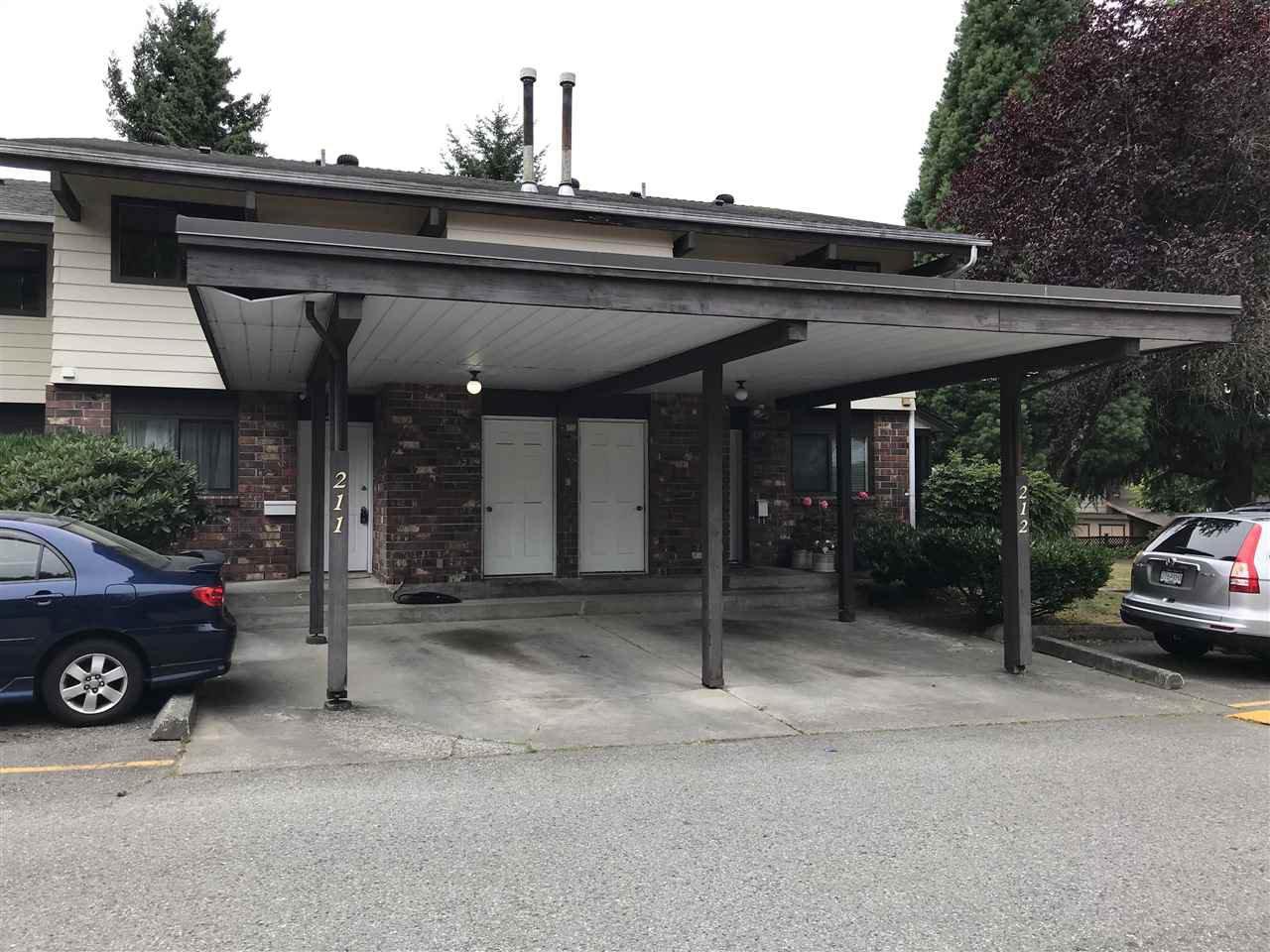 "Main Photo: 211 13931 74 Avenue in Surrey: East Newton Townhouse for sale in ""GLENCOE"" : MLS®# R2382340"