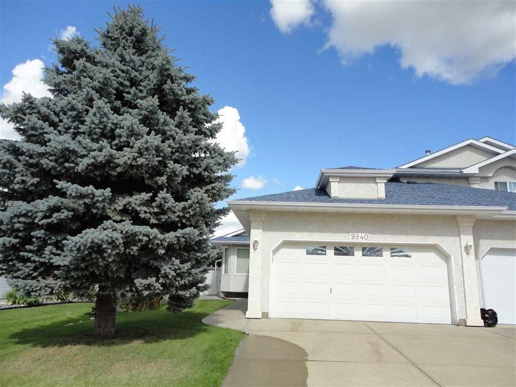 Main Photo: 9940 178 Avenue in Edmonton: Zone 27 House Half Duplex for sale : MLS®# E4214850
