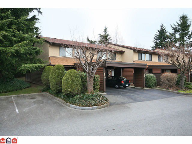 Main Photo: 256 9452 PRINCE CHARLES Boulevard in Surrey: Queen Mary Park Surrey Townhouse for sale : MLS®# F1104338