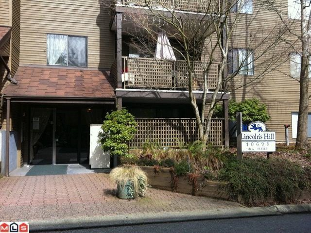 """Main Photo: 116 10698 151A Street in Surrey: Guildford Condo for sale in """"Lincoln's Hill"""" (North Surrey)  : MLS®# F1107821"""