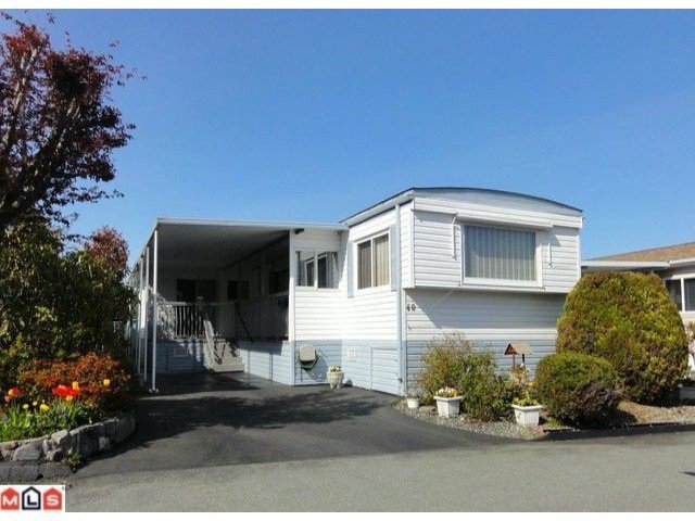 "Main Photo: 40 15875 20TH Avenue in Surrey: King George Corridor Manufactured Home for sale in ""SEA RIDGE BAYS"" (South Surrey White Rock)  : MLS®# F1122362"