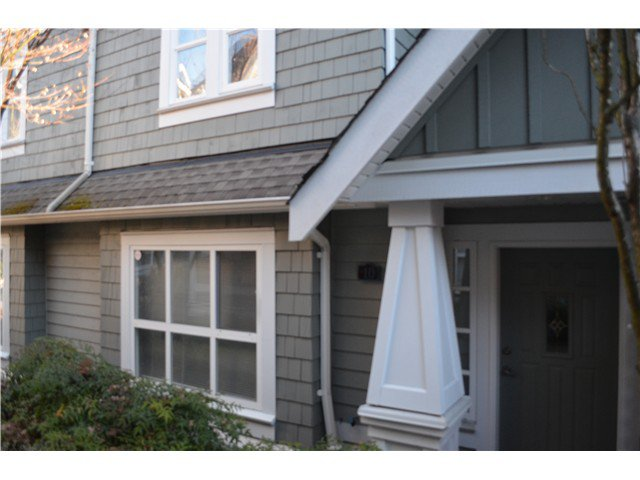 """Main Photo: 10 2688 MOUNTAIN Highway in North Vancouver: Westlynn Townhouse for sale in """"CRAFTSMAN ESTATES"""" : MLS®# V1038517"""