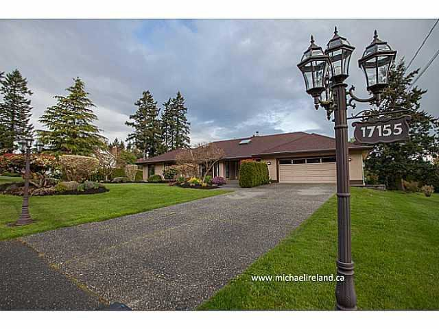 Main Photo: 17155 26A Avenue in Surrey: Grandview Surrey House for sale (South Surrey White Rock)  : MLS®# F1409954