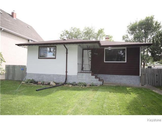 Main Photo: 508 Victoria Avenue West in WINNIPEG: Transcona Residential for sale (North East Winnipeg)  : MLS®# 1524543