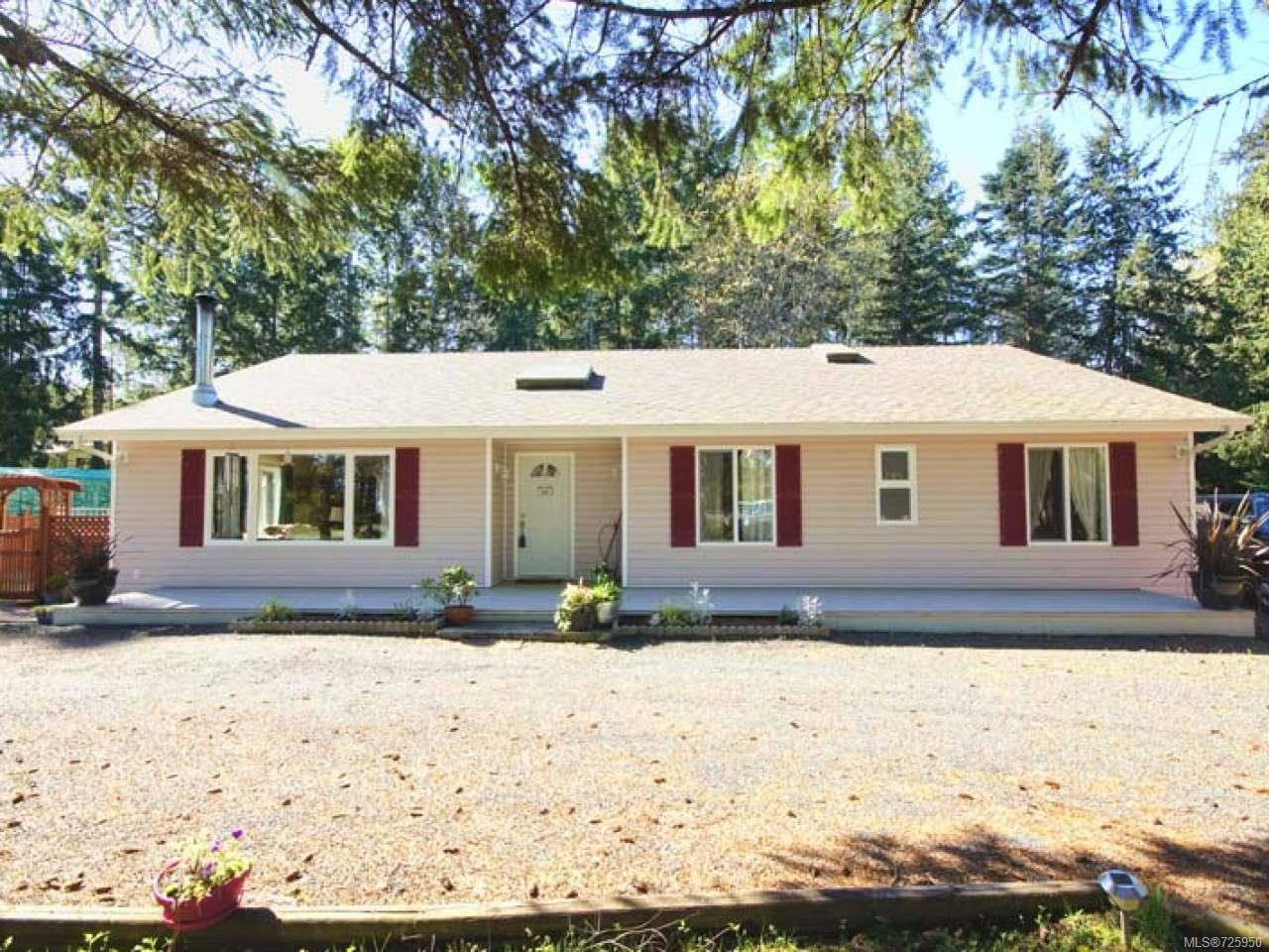 Main Photo: 4004 GLADYS ROAD in BOWSER: PQ Bowser/Deep Bay House for sale (Parksville/Qualicum)  : MLS®# 725950