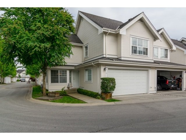 "Main Photo: 71 17097 64 Avenue in Surrey: Cloverdale BC Townhouse for sale in ""The Kentucky"" (Cloverdale)  : MLS®# R2064911"