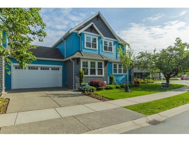 "Main Photo: 1 5683 SAPPERS Way in Chilliwack: Vedder S Watson-Promontory House 1/2 Duplex for sale in ""Garrison"" (Sardis)  : MLS®# R2070385"