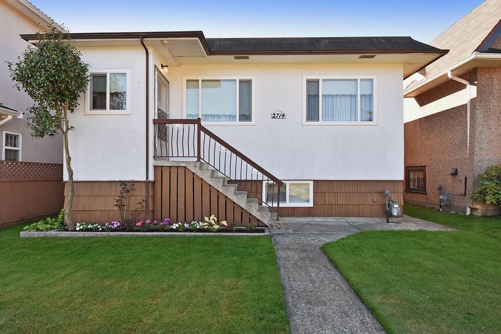 "Main Photo: 2714 GRAVELEY Street in Vancouver: Renfrew VE House for sale in ""RENFREW"" (Vancouver East)  : MLS®# R2127208"