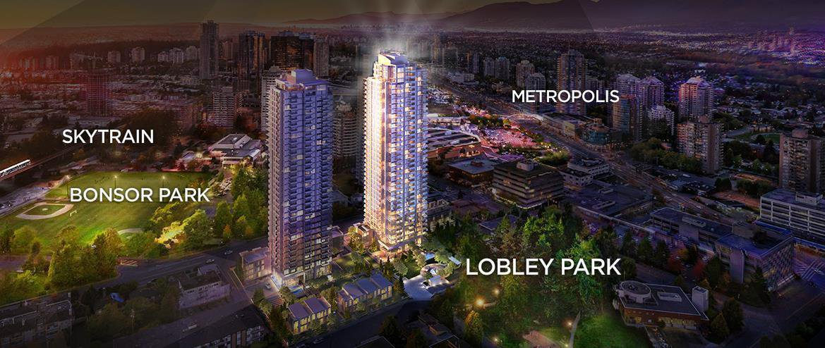 """Main Photo: 1910 6538 NELSON Avenue in Burnaby: Metrotown Condo for sale in """"Met 2"""" (Burnaby South)  : MLS®# R2148663"""