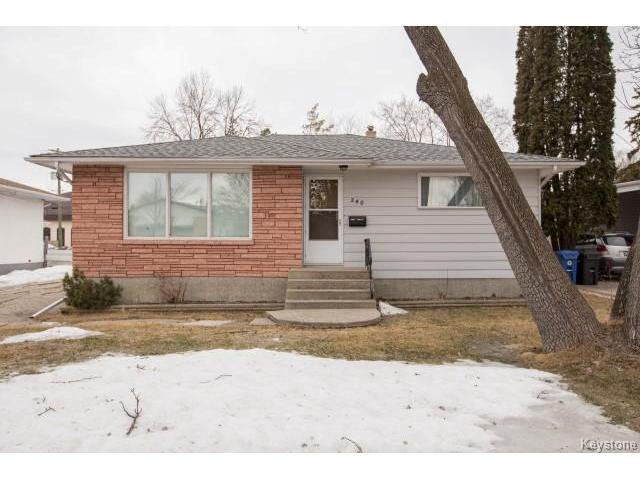 Main Photo: 240 Wallasey Street in Winnipeg: Silver Heights Residential for sale (5F)  : MLS®# 1705932