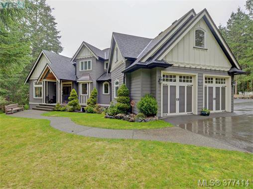 Main Photo: 614 Southwood Drive in VICTORIA: Hi Western Highlands Single Family Detached for sale (Highlands)  : MLS®# 377414