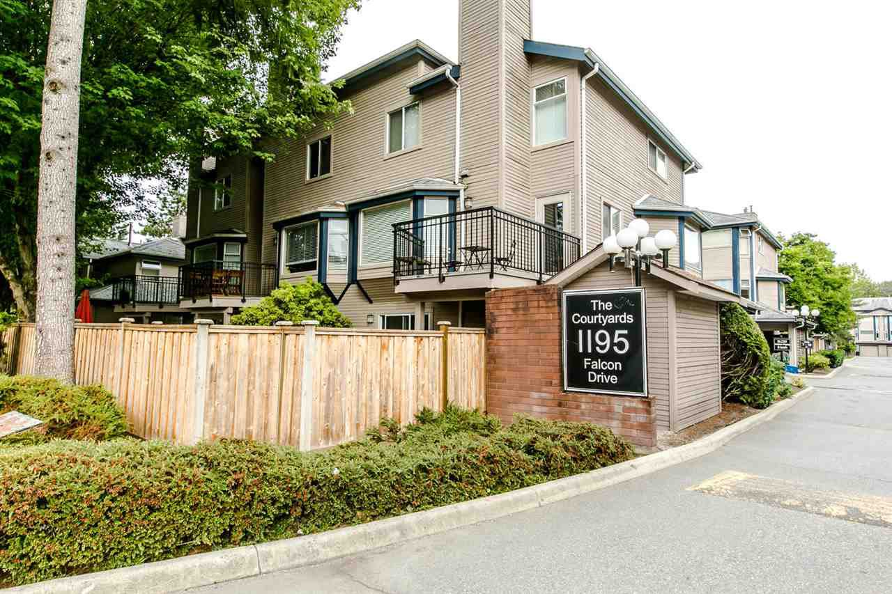 "Main Photo: 38 1195 FALCON Drive in Coquitlam: Eagle Ridge CQ Townhouse for sale in ""THE COURTYARDS"" : MLS®# R2208911"