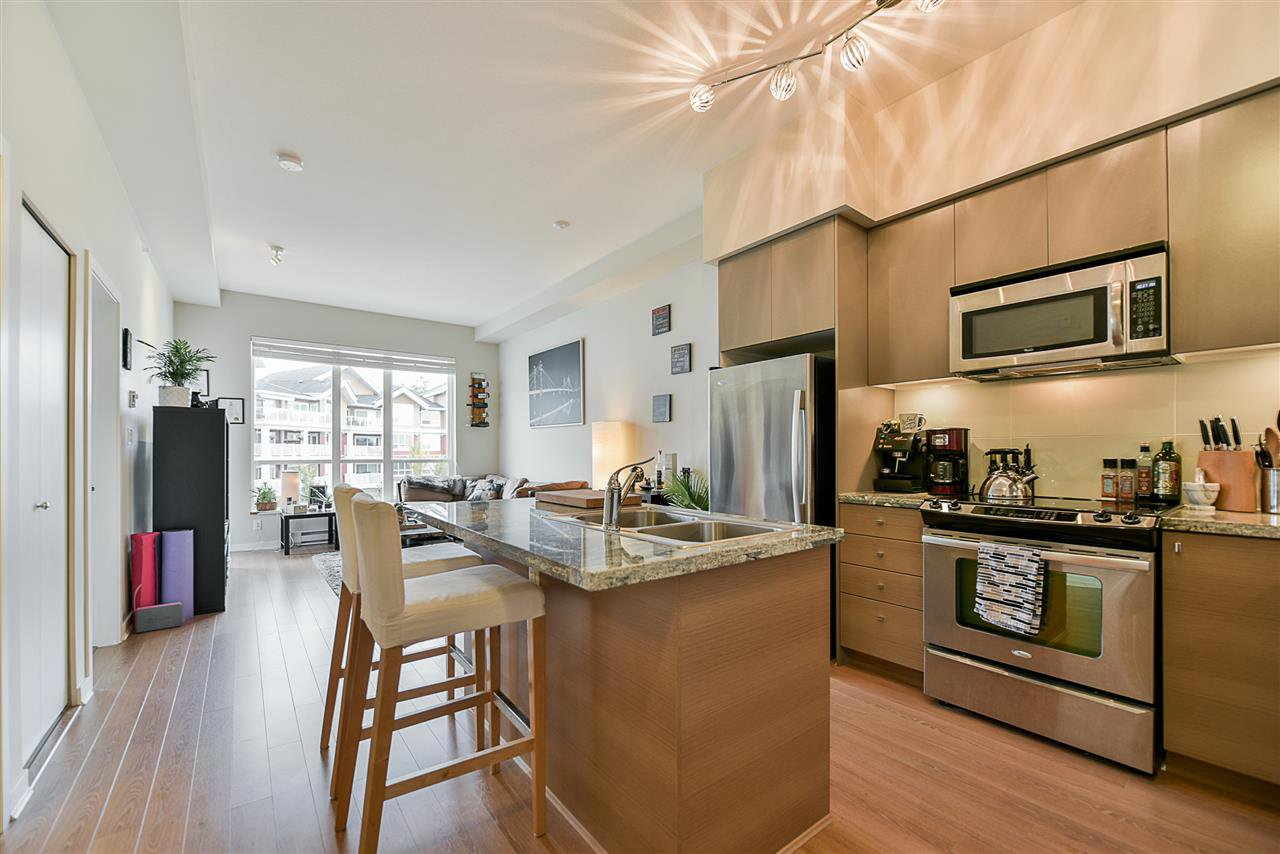 """Main Photo: 504 6440 194 Street in Surrey: Clayton Condo for sale in """"WATERSTONE"""" (Cloverdale)  : MLS®# R2217133"""