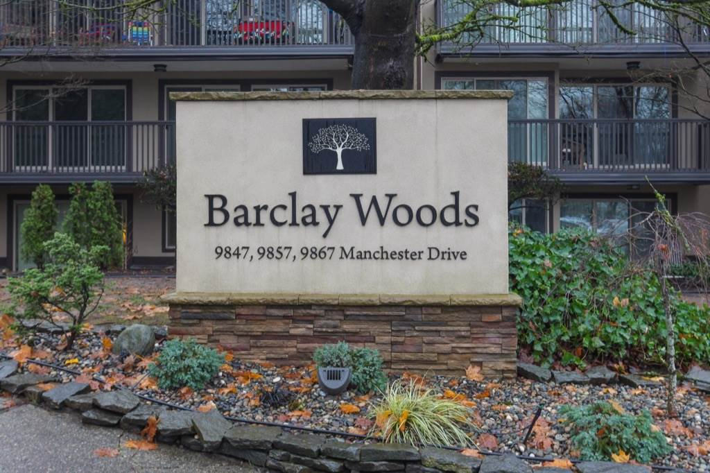 """Main Photo: 424 9847 MANCHESTER Drive in Burnaby: Cariboo Condo for sale in """"BARCLAY WOOD"""" (Burnaby North)  : MLS®# R2224490"""