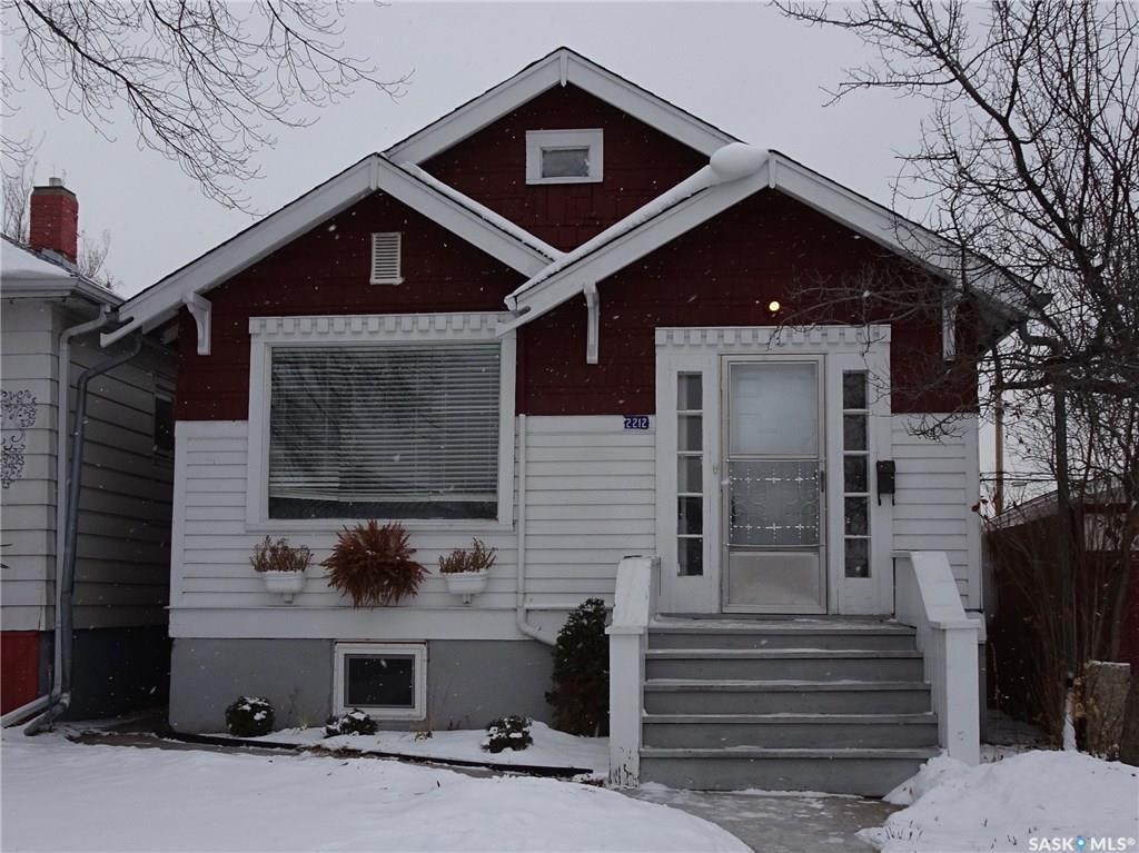 Main Photo: 2212 Edgar Street in Regina: Broders Annex Residential for sale : MLS®# SK714692