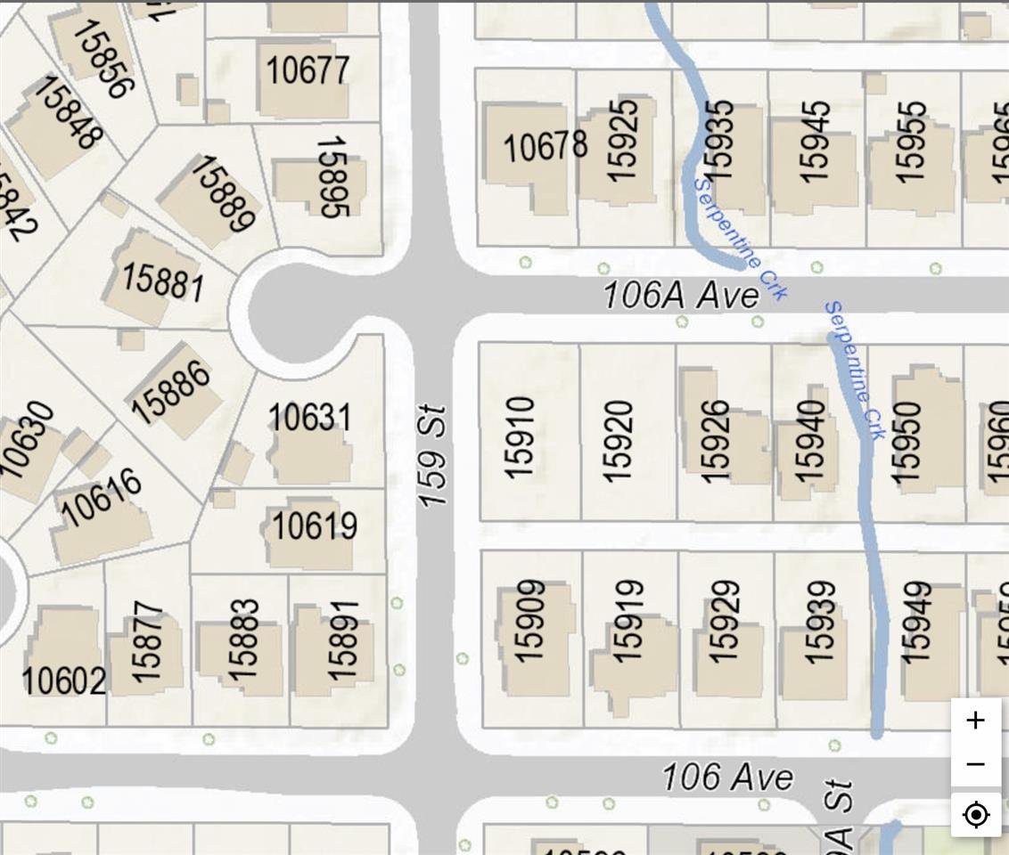 Main Photo: 15920 106A Avenue in Surrey: Fraser Heights Land for sale (North Surrey)  : MLS®# R2345505