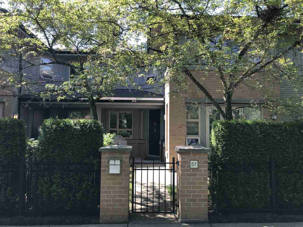 Main Photo: 57 6300 BIRCH Street in Richmond: McLennan North Townhouse for sale : MLS®# R2376593