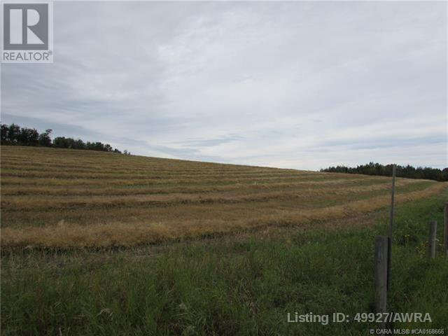 Main Photo: RR80 S HIGHWAY 43 in Rural Lac Ste. Anne County: Vacant Land for sale : MLS®# AW49927
