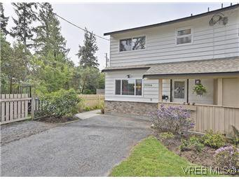 Main Photo: A 2999 Glen Lake Rd in VICTORIA: La Glen Lake Half Duplex for sale (Langford)  : MLS®# 583980