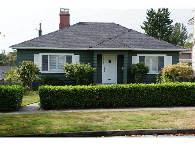 Main Photo: 7751 FRENCH Street in Vancouver: Marpole House for sale (Vancouver West)  : MLS®# V911140
