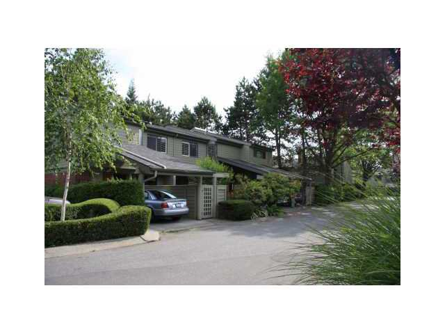 "Main Photo: 2238 MCBAIN Avenue in Vancouver: Quilchena Townhouse  in ""ARBUTUS VILLAGE"" (Vancouver West)  : MLS®# V1091234"