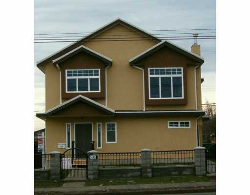 Main Photo: 7449 Main Street in Vancouver: South Vancouver House 1/2 Duplex for sale (Vancouver East)  : MLS®# V622304