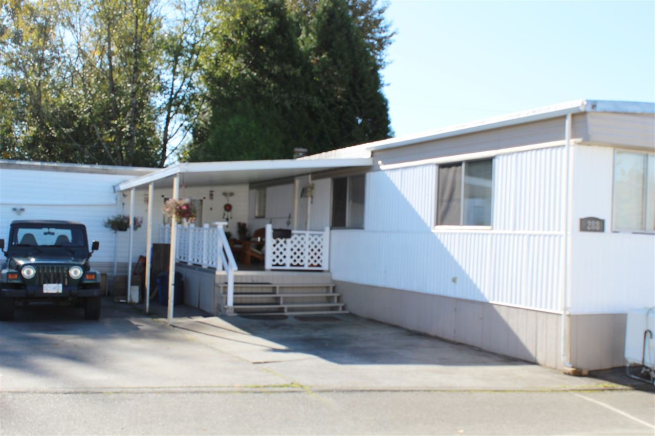 """Main Photo: 288 201 CAYER Street in Coquitlam: Maillardville Manufactured Home for sale in """"WILDWOOD PARK"""" : MLS®# R2117360"""
