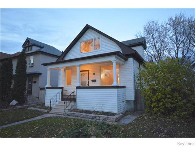 Main Photo: Luxton Avenue in Winnipeg: Scotia Heights Residential for sale (4D)  : MLS®# 1628008
