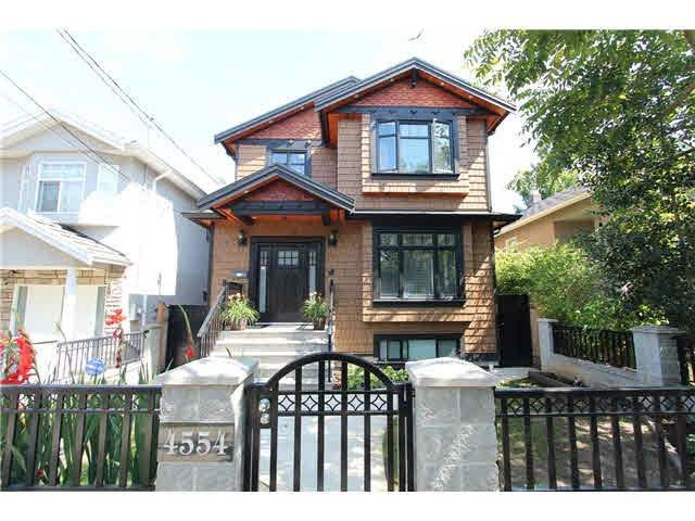 Main Photo: 4554 SOPHIA STREET in : Main House for sale : MLS®# V1139308