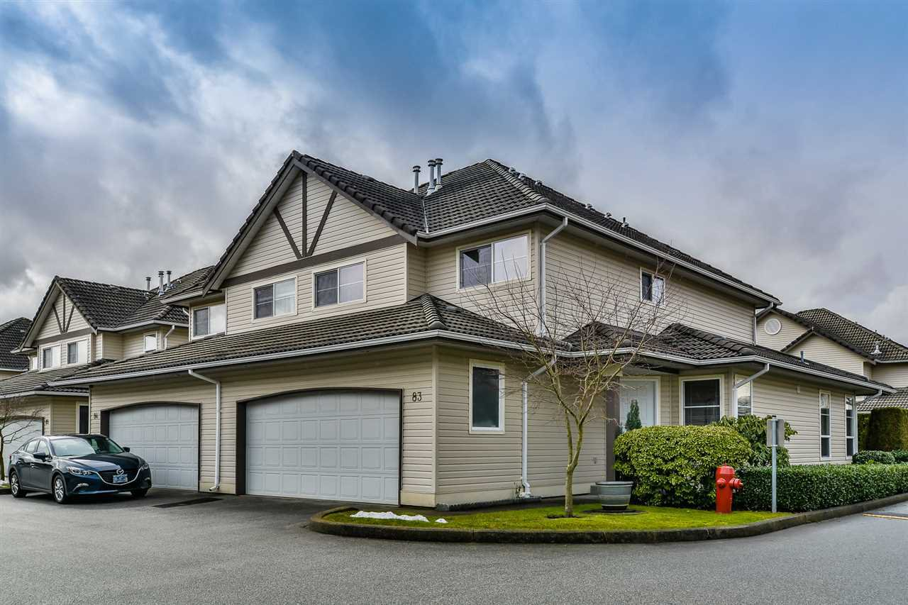 "Main Photo: 83 758 RIVERSIDE Drive in Port Coquitlam: Riverwood Townhouse for sale in ""RIVERLANE ESTATES"" : MLS®# R2139296"