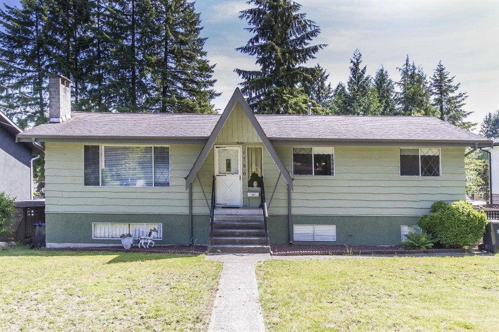 "Main Photo: 1786 HEATHER Avenue in Port Coquitlam: Oxford Heights House for sale in ""HEATHER HEIGHTS"" : MLS®# R2174317"