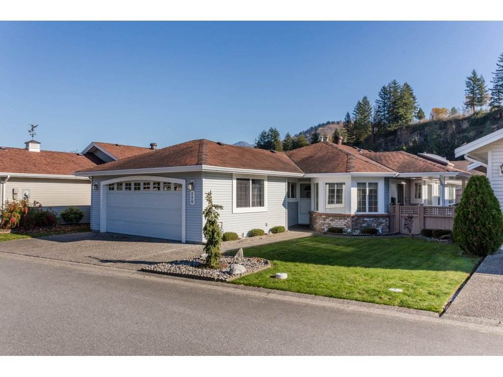 """Main Photo: 220 6001 PROMONTORY Road in Chilliwack: Vedder S Watson-Promontory House for sale in """"PROMONTORY LAKE ESTATES"""" (Sardis)  : MLS®# R2217887"""