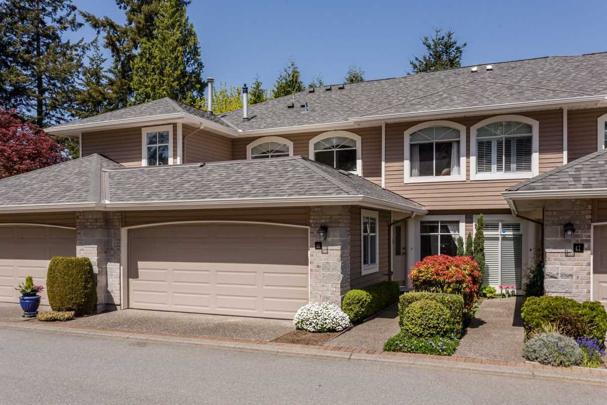 "Main Photo: 48 2500 152 Street in Surrey: King George Corridor Townhouse for sale in ""The Peninsula"" (South Surrey White Rock)  : MLS®# R2262773"