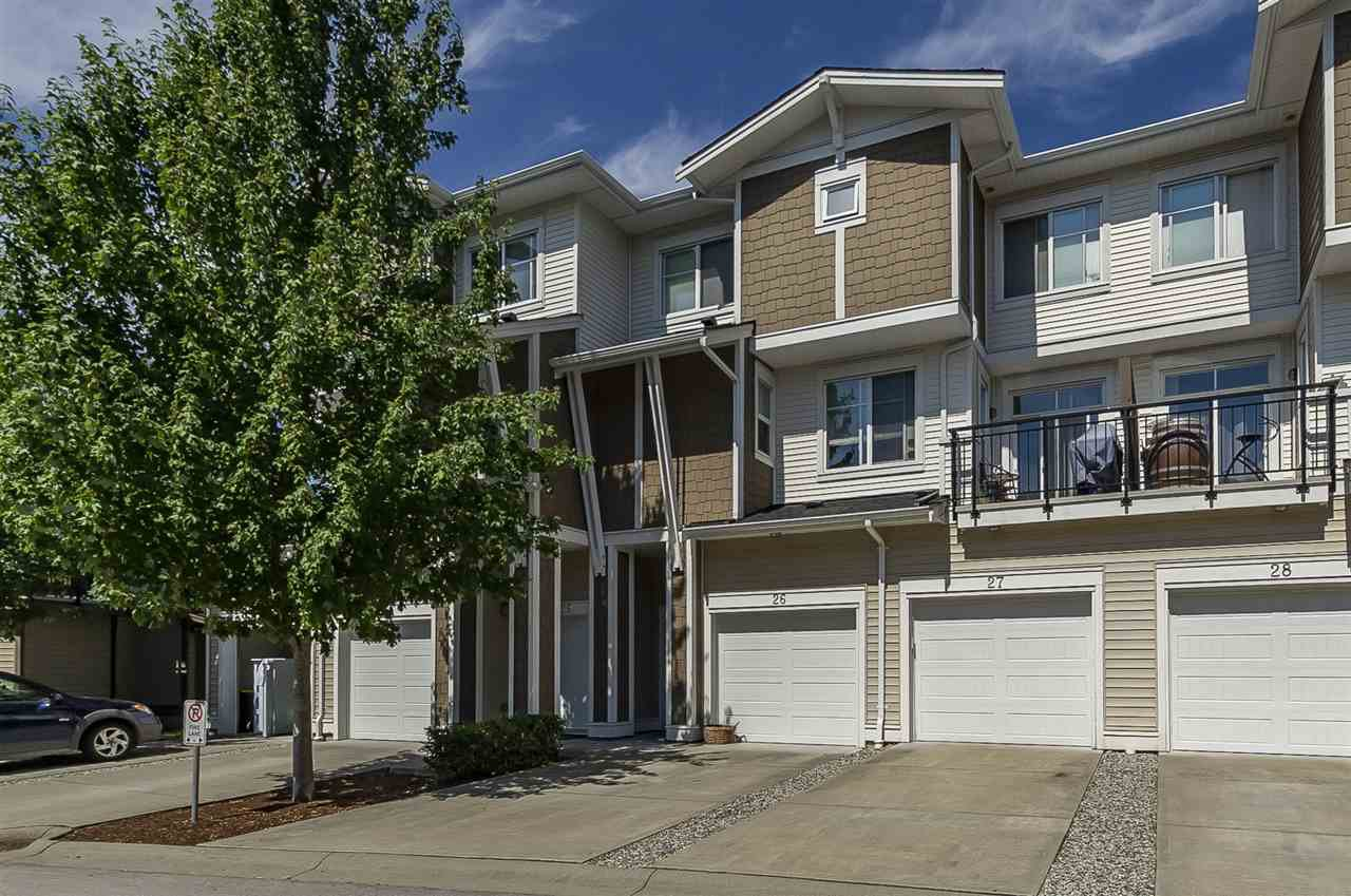 "Main Photo: 26 19433 68 Avenue in Surrey: Clayton Townhouse for sale in ""The Grove"" (Cloverdale)  : MLS®# R2293603"